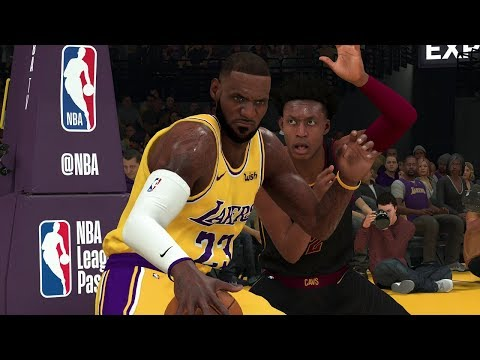 NBA Today 1/13 Lakers Vs Cavaliers Full Game Highlights | NBA 2K