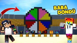 Çarkıfelek ve 8 Farklı Şans bloğu - Minecraft Luck Wars ! w/SinanKocali