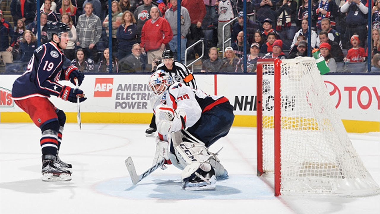 Shootout: Capitals vs Blue Jackets - YouTube