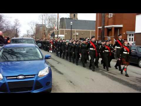 Truro NS Vimy Ridge Centenniary March In