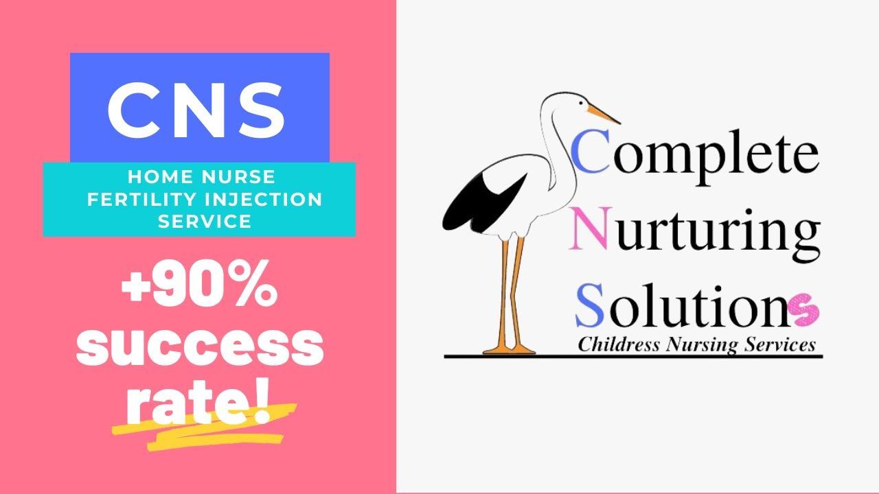 Benefits of CNS Stork - Home Fertility Nurse Injection Provider