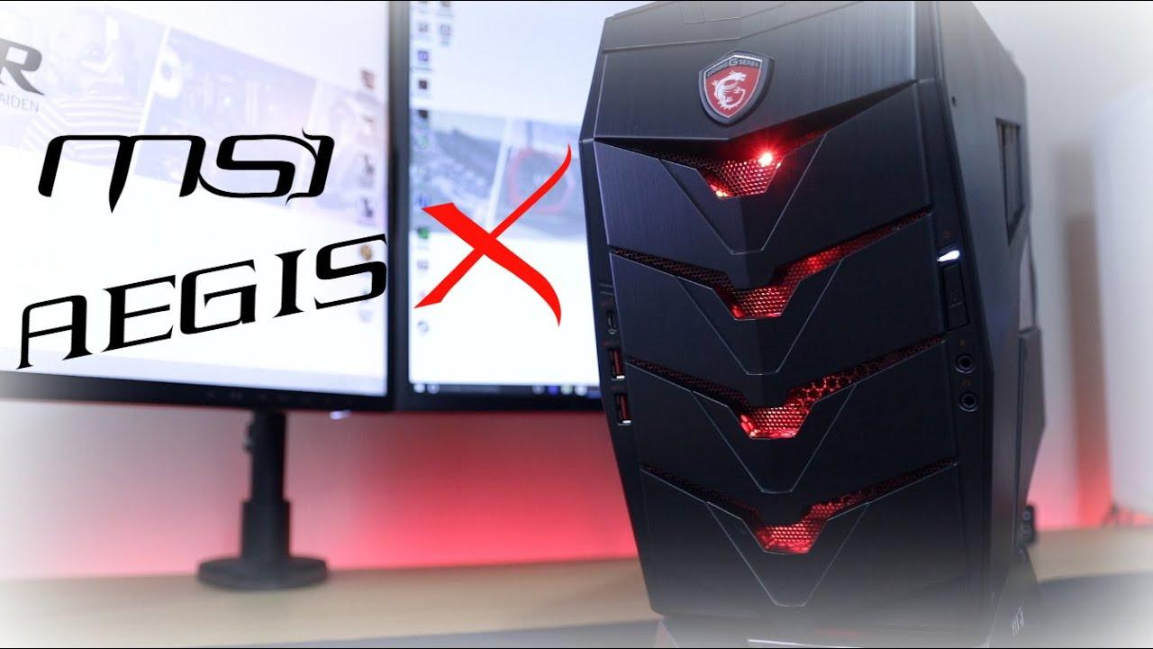 Msi Aegis X Review Best Ever Pre Built Desktop Gaming Pc