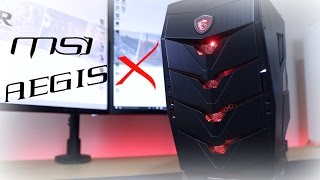 MSI AEGIS X Review! Best Ever Pre Built Desktop Gaming PC?