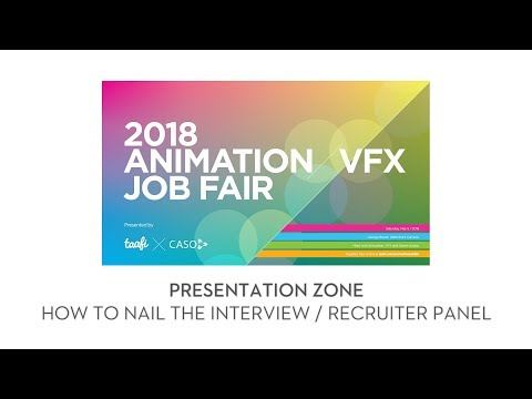 2018 TAAFI X CASO Job Fair: How to Nail the Interview / Recruiter Panel