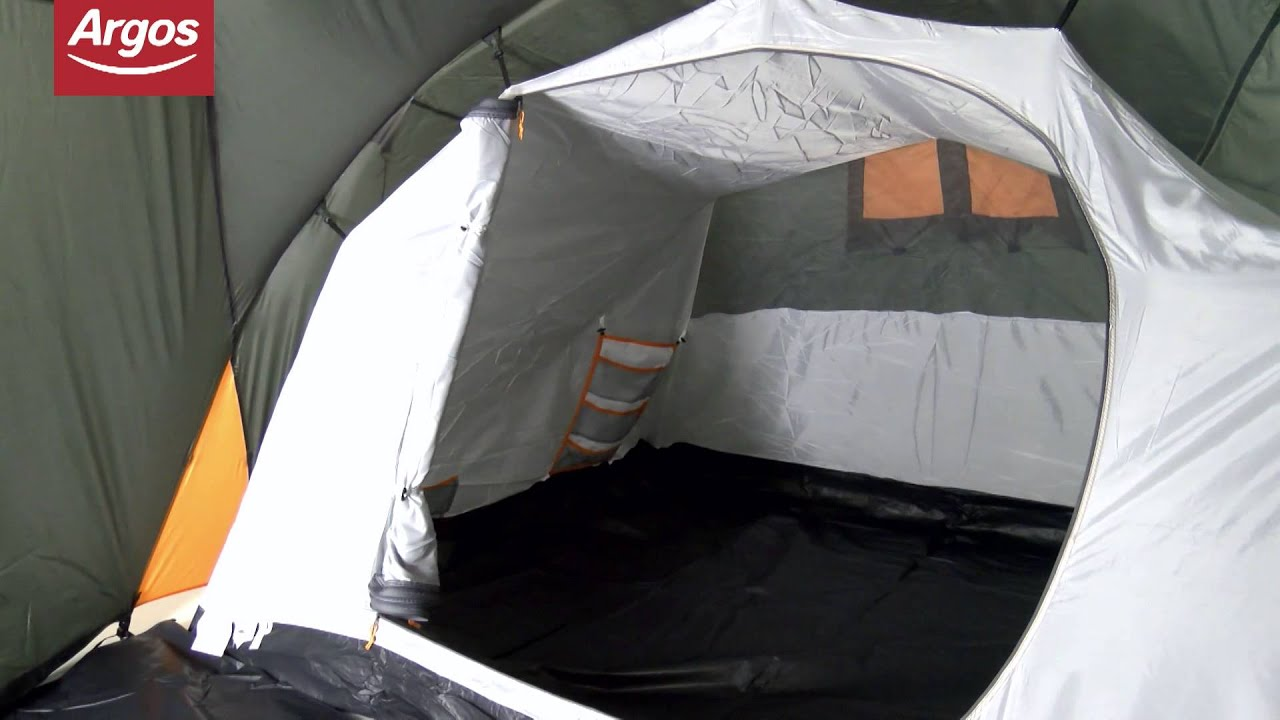 Regatta 4 Man Family Tent - YouTube