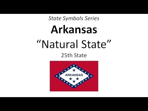 State Symbols Series Arkansas Youtube