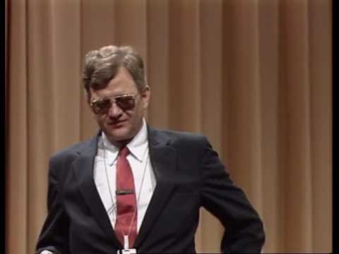 Tom Clancy Speaks at the National Security Agency