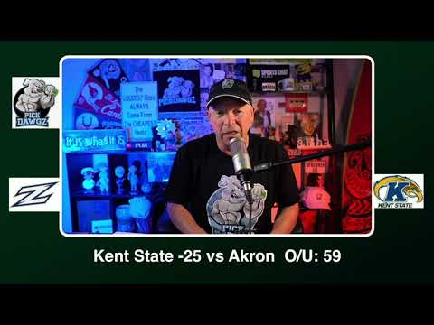 Kent State vs Akron 11/17/20 Free College Football Picks and Predictions CFB Tips