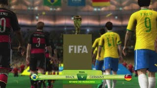 2014 fifa world cup brazil - brazil vs germany - [hd full gameplay]