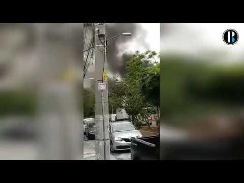 Al menos dos muertos y 12 heridos al caer pequeño avión en calle de Sao Paulo