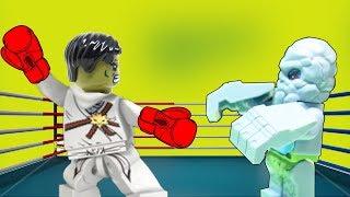 Как побороть лень Новые Лего мультики  Смешные мультфильмы 2018