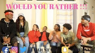 WOULD YOU RATHER FT. NIQUE AND KING , CARMEN AND COREY AND CHRIS AND TRAY !!!!!