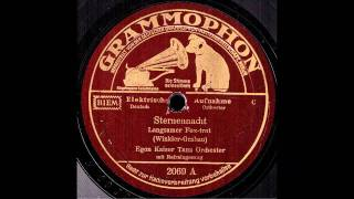 Sternennacht / Egon Kaiser & Tanz-Orchester mit Refraingesang