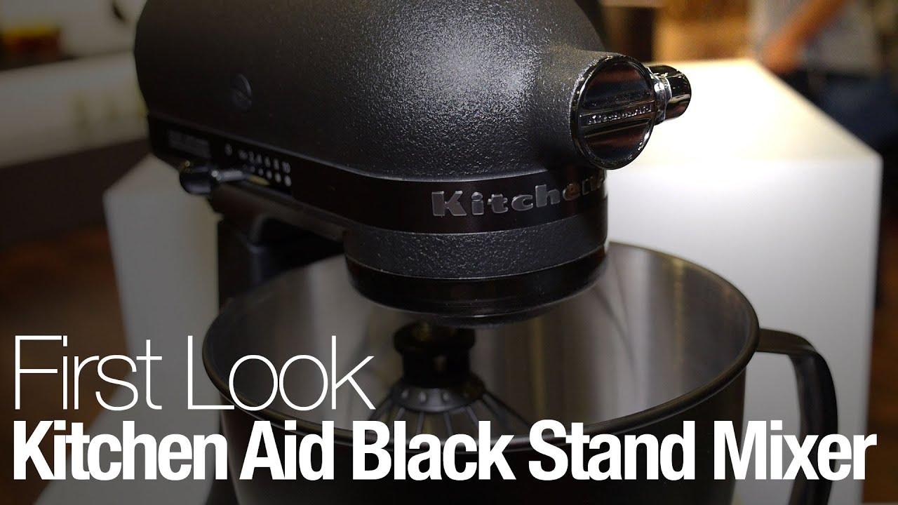 kitchenaid limited edition mixer. kitchenaid\u0027s limited edition stand mixer is completely black kitchenaid o