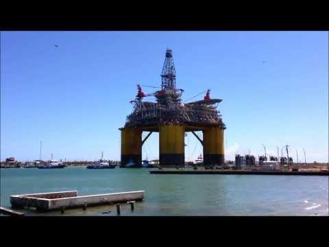 Shell Olympus Offshore Drilling Platform TLP (ORIGINAL)