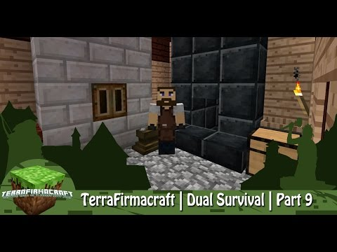 Minecraft | TerraFirmacraft | Dual Survival | Part 9 | Iron Bloom