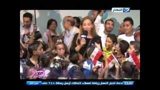 صبايا الخير | شاهد ريهام سعيد تغني مع حماده هلال