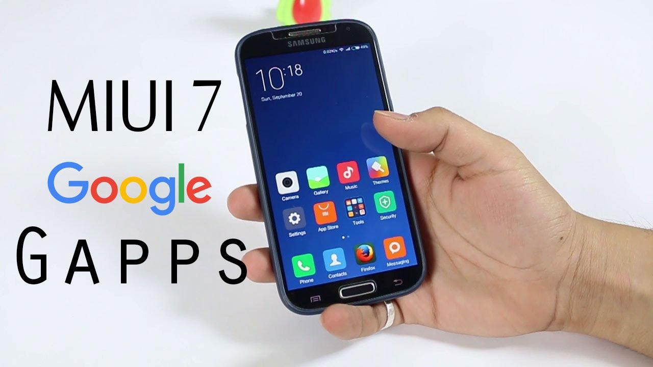how to get google app in miui