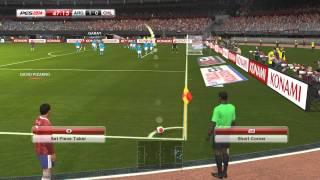 PES 2014 - Argentina vs Chile (Relatos y Comentarios de Closs y Niembro) PC