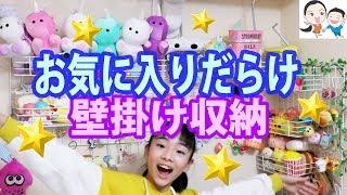 スクイーズ&キーホルダー&アクセサリー✨収納棚を詳しく紹介★ベイビーチャンネル thumbnail