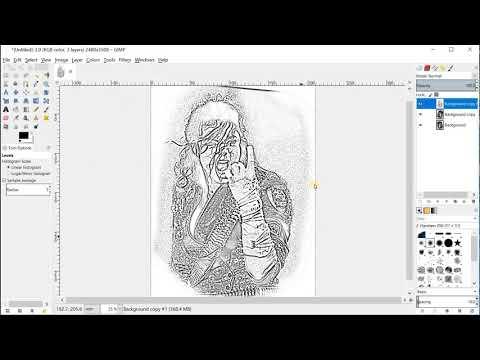 Ralfy tattoo - film pomocniczy / tutorial - Przygotowanie kalki do druku ( drukarka termalna ) PL