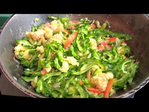 How To Cook Ampalaya Without Bitter Taste