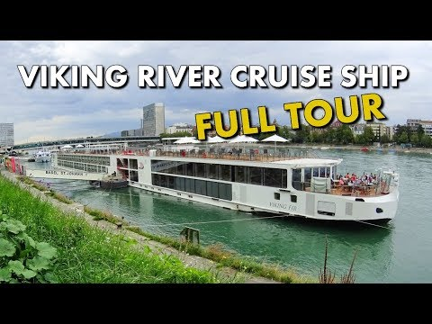 EUROPEAN RIVER CRUISE SHIP FULL TOUR - VIKING EIR