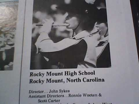 1981 Rocky Mount high school marching band music file.
