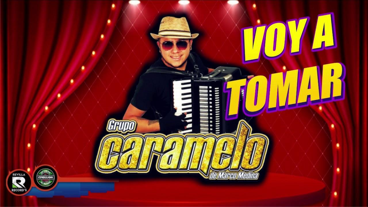 VOY A TOMAR   GRUPO CARAMELO CUMBIA ORIGINAL  ESTRENO 2020