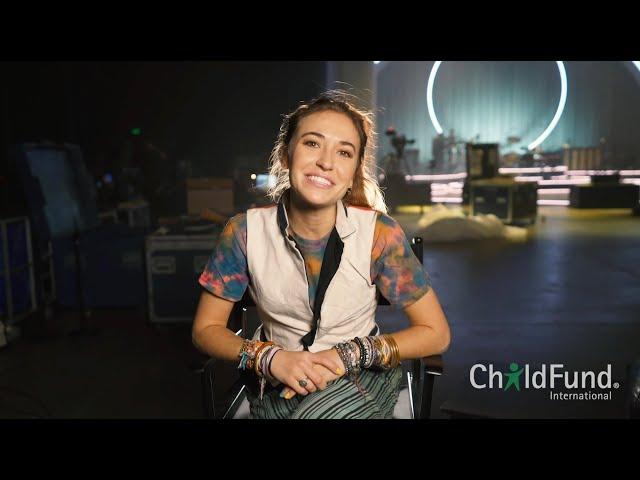 Lauren Daigle World Tour - ChildFund Partnership