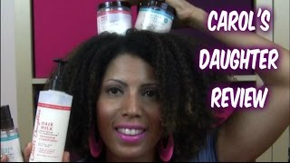 REVIEW: Carol's Daughter NEW Target line! - CurlyKimmyStar Thumbnail