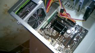 Офисный компьютер за 110$ на Двухъядерном Intel  J1800 (2.41 ГГц)
