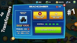 Angry Birds Transformers-Evento do Beachcomber #1