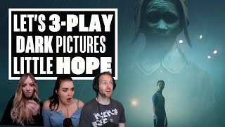 Let's 3-Play New Little Hope Gameplay Demo - HOW DIFFERENT IS EACH PLAYTHROUGH REALLY?