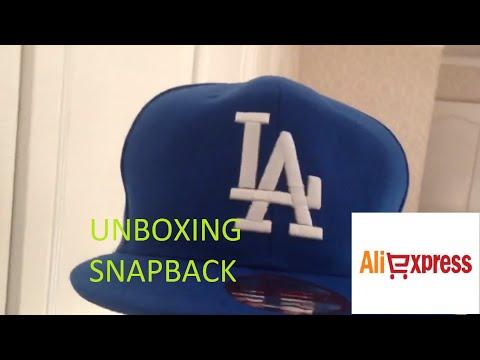 Unboxing Snapback LA Dodgers Aliexpress New Era