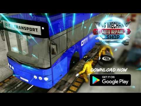 Bus Mechanic Auto Repair Shop-Car Garage Simulator - Apps on