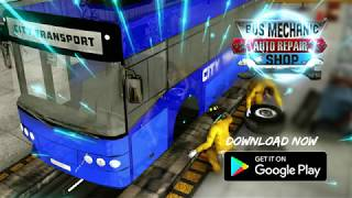 Bus Mechanic Auto Repair Shop-Car Garage Simulator Android Gameplay