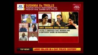Gambar cover Sushma Swaraj Vs Trolls: Right-Wing Trolls A Frankenstein Monster That's Out-Of-Control?   Newsroom