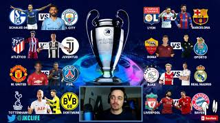 CR7 VUELVE A MADRID · ELIMINATORIAS DE 1/8 OCTAVOS DE FINAL UEFA CHAMPIONS LEAGUE 2018/19 !