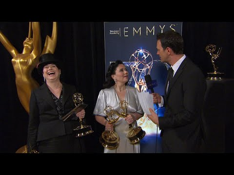 70th Emmy Awards: Backstage LIVE! with Amy Sherman Palladino and Alex Bornstein