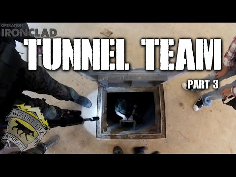 American Milsim Operation: Ironclad Part 3: Tunnel Team (Underground Tunnel System)