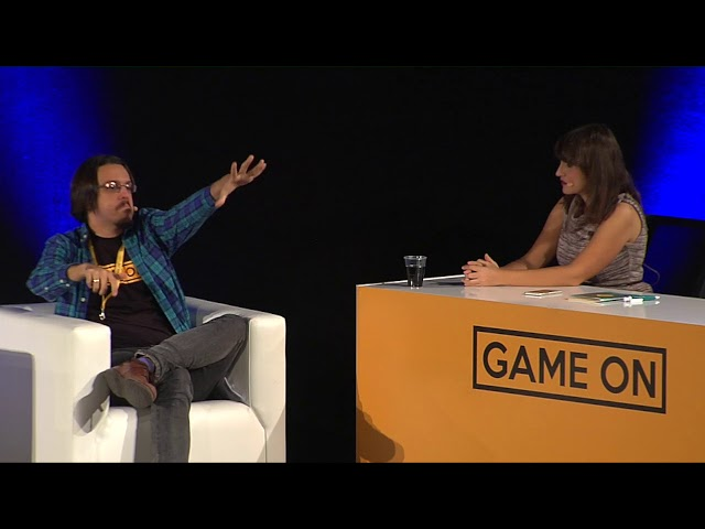 Álvaro Loman en GAME ON 2017