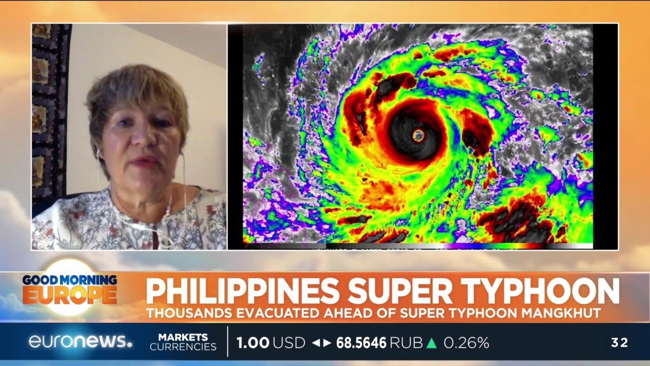 Thousands evacuated in the Philippines ahead of Super Typhoon Mangkhut