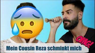 😂😂 Mein Cousin Reza schminkt mich Iachflash des Todes l  Soraya Ali