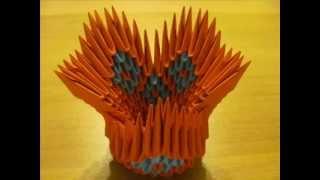 3d Origami Mini Swan