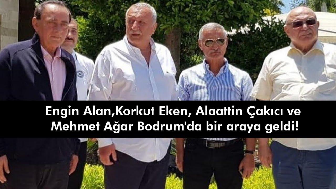 Engin Alan, Korkut Eken, Alaattin Çakıcı ve Mehmet Ağar Buluştu! - YouTube