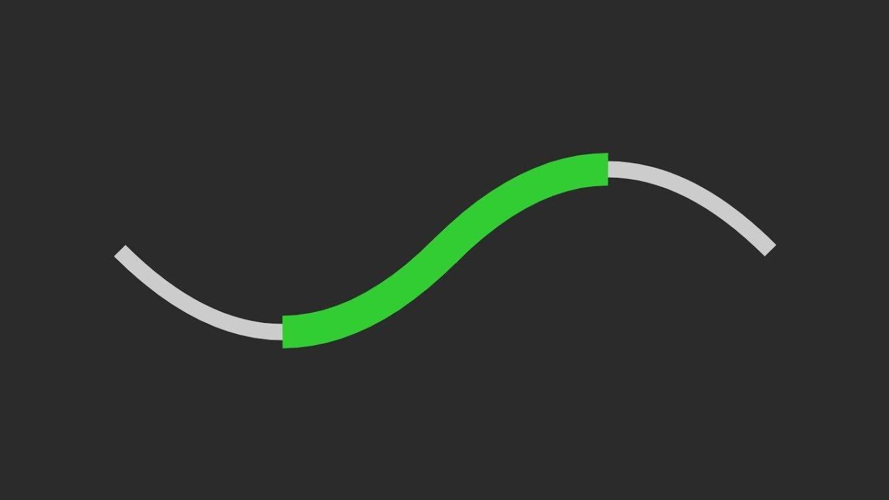 SVG & JS - (Part 1 : Set stroke-dasharray & stroke-dashoffset in  Percentage) - SVG Path