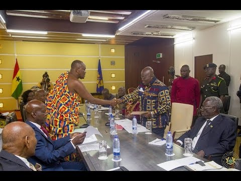 Council of State backs President Akufo-Addo's creation of New Regions