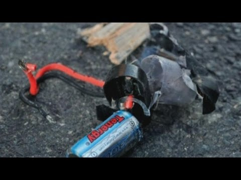 Boston bombings: First pictures of devices detonated at finish line