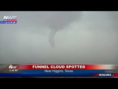 MUST WATCH: EPIC Tornado Chase In Higgins, Texas